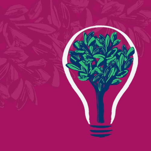 Bulb Responsive Banner Design